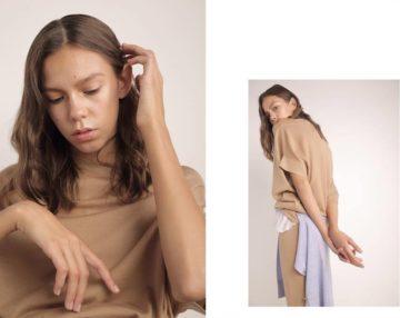 Джемпер и брюки Alberta Ferretti | Кардиган Tony Burch