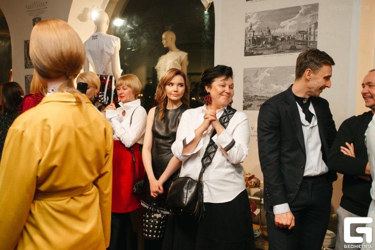 Гости показа A La Russe