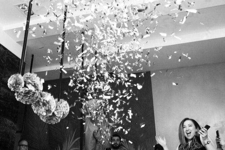 Футуристическая вечеринка,приуроченная ко встрече нового 2020 года